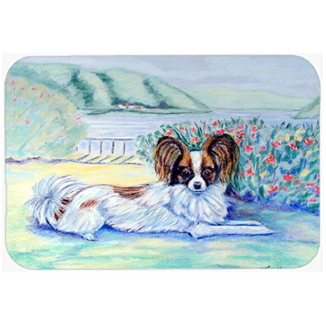 Carolines Treasures 7244LCB Papillon Glass Cutting Board - Large, 15 x 12 in. - image 1 of 1