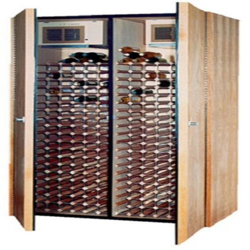 600-Model Dual-Zone Wine Cabinet (2 Cooling Units) by Vin...