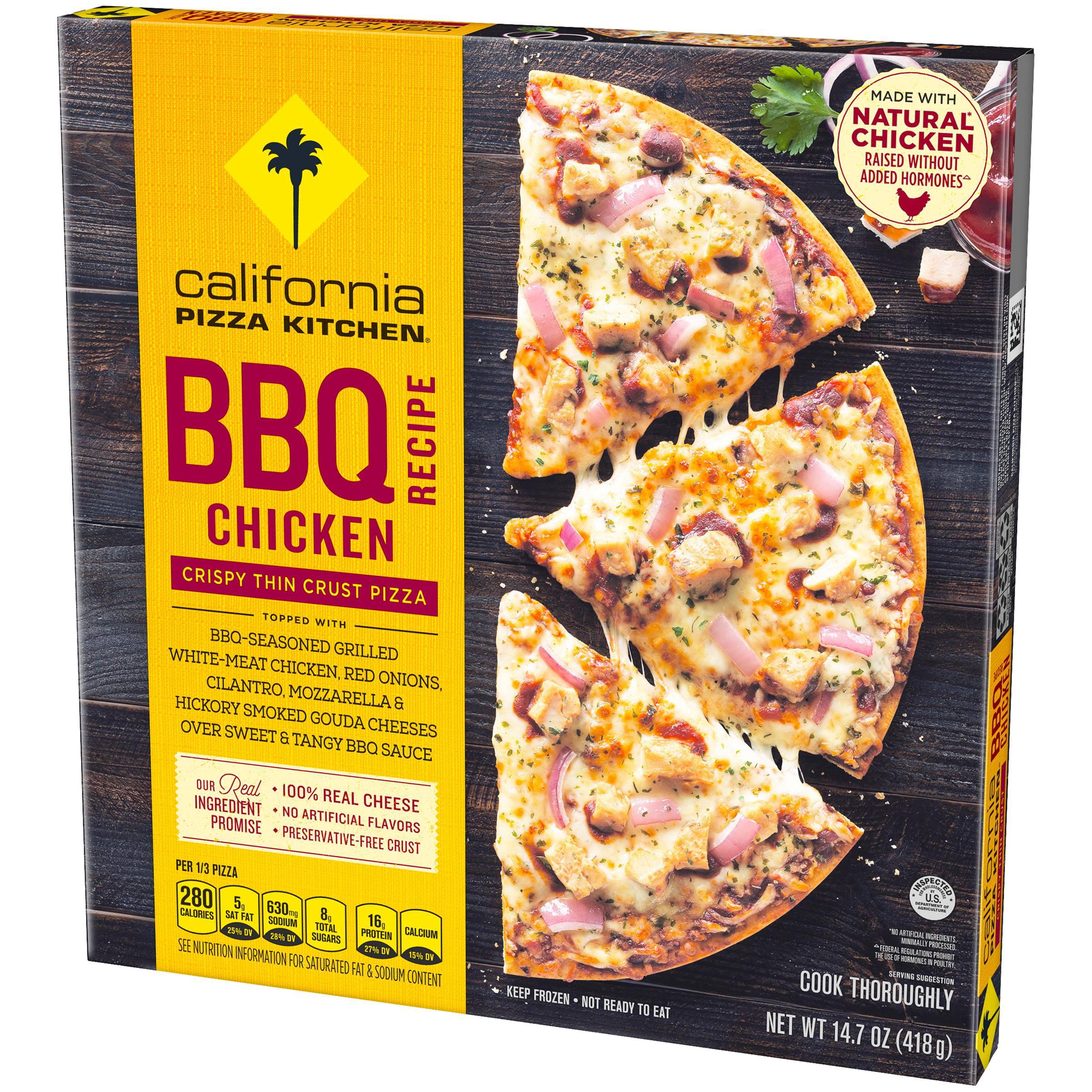 california pizza kitchen crispy thin crust bbq recipe chicken pizza rh walmart com