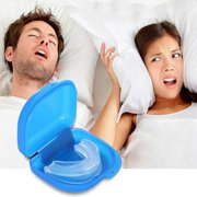 Ejoyous Unisex Stop Snoring Anti Bruxism Mouthpiece Night Sleep Apnea Guard Grind Aid
