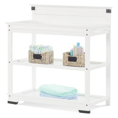 Child Craft Child Craft Redmond Dressing Table Twin Bed Headboard Matte White