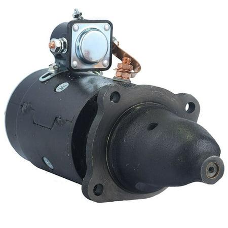 STARTER MOTOR FITS INTERNATIONAL TRACTOR 300 300HC 350 350HC 400HC 1108038 361782R91 361782R91 ()