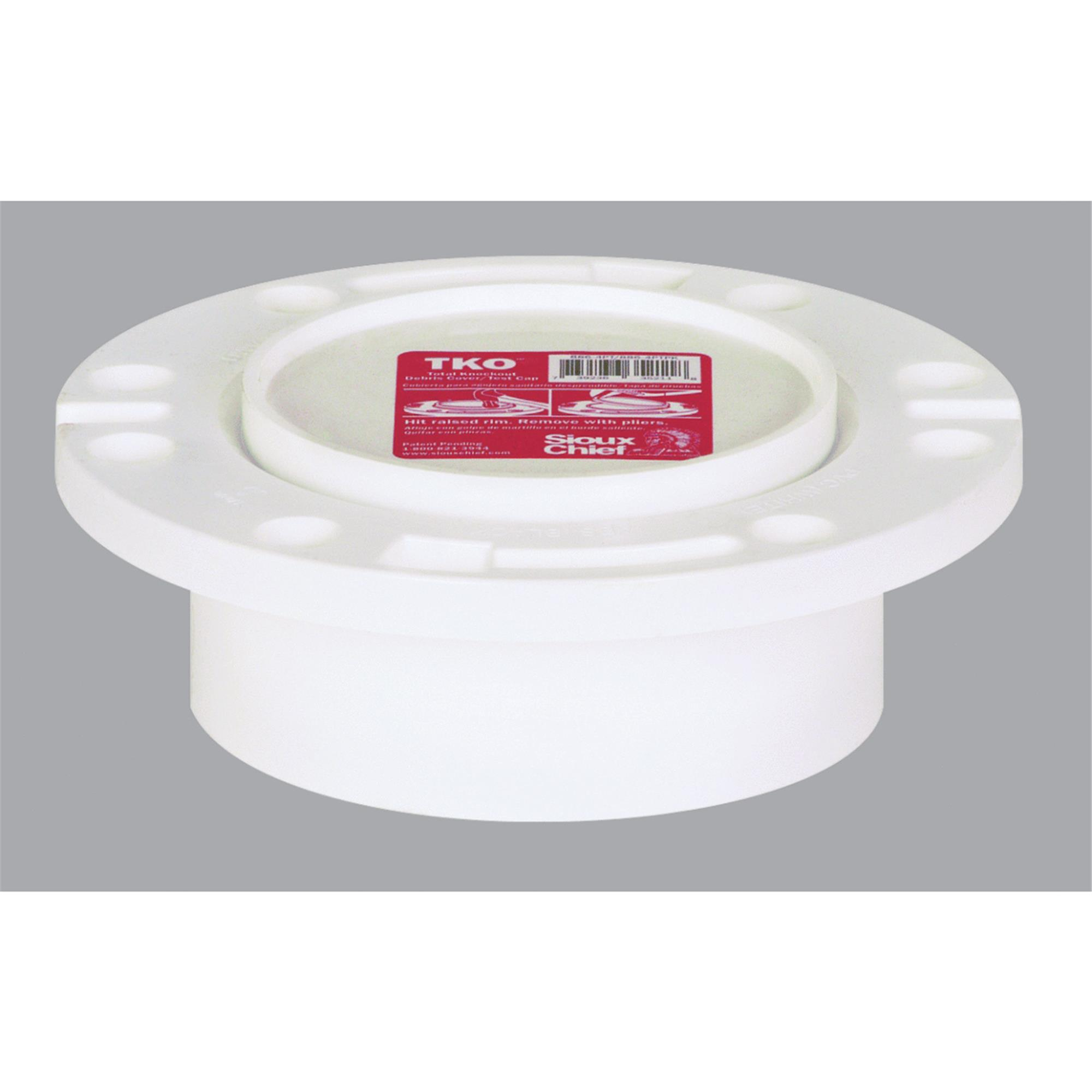 Sioux Chief PVC Total Knockout Flush To Floor Closet Flange by Sioux Chief
