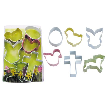 R&M Easter/Spring 6 Piece Cookie Cutter Set
