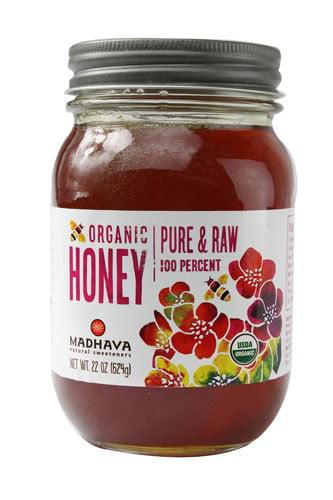 Madhava Natural Sweeteners Organic Honey 22 fl oz by Madhava Honey Ltd