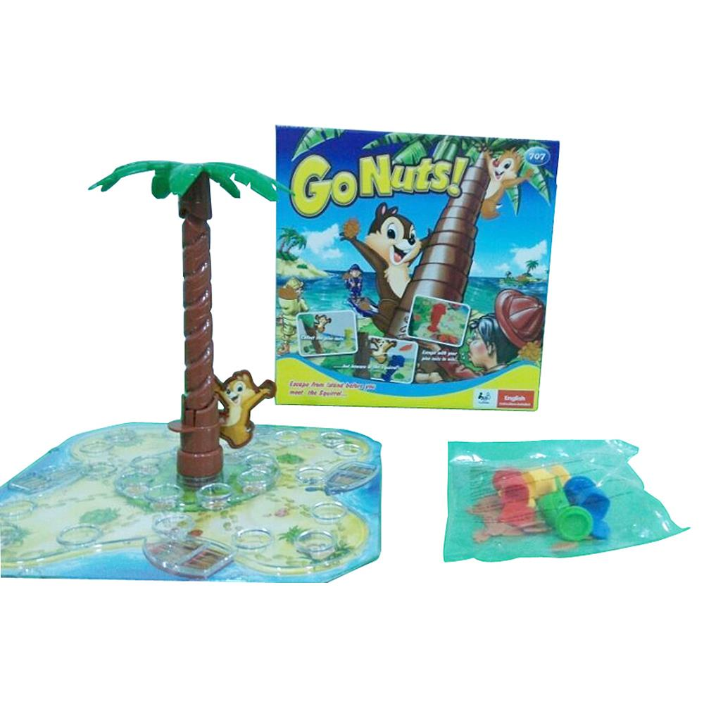 Lightahead Go Nuts! A fun game of Skill and Action. The Classic Board Game for 2 to 4 Players.