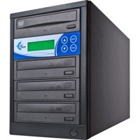 EZ DUPE 3-TARGET DVD/CD DUPLICATOR BLACK 3YR WARRANTY