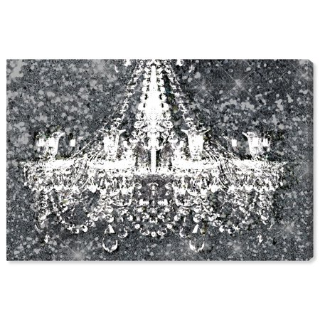 Runway Avenue Fashion and Glam Wall Art Canvas Prints 'Disco Chandelier' Home Décor, 36