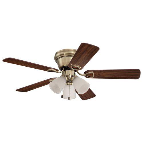 Walmart Ceiling Fans : Home elegance quot flushmount ceiling fan walmart
