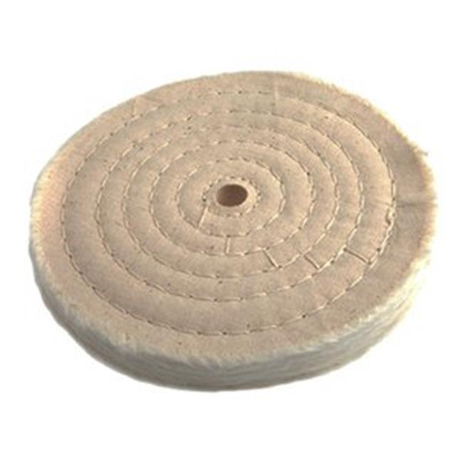 Forney Industries Inc 72040 Cotton Wheel Buffing 55Ply - 6 x 0. 5 inch