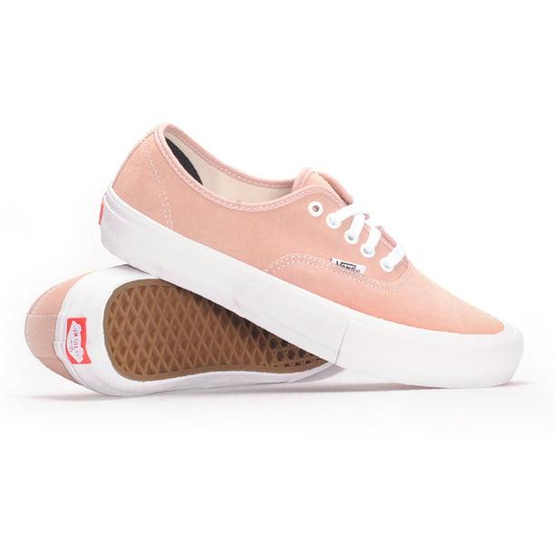 Vans - Vans Authentic Pro (Mahogany Rose/White) Men's Skate Shoes ...