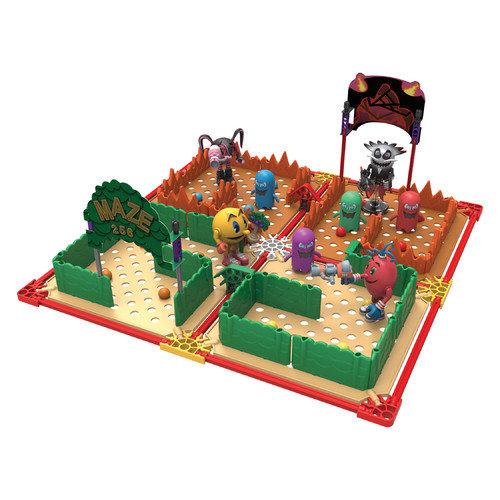 K'NEX Pac-Man Maze Bundle: Pac, Betrayus, Cylindria and Spiral's Building Sets