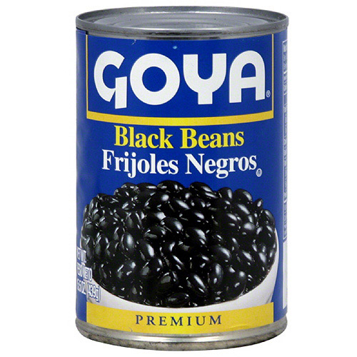 Goya Black Beans, 15.5 oz (Pack of 24)