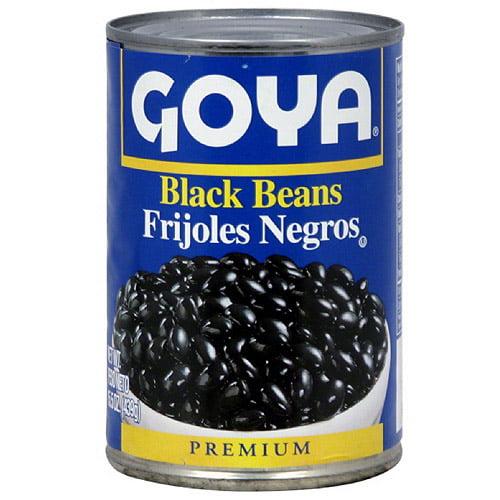 Goya Black Beans, 15.5 oz (Pack of 24)