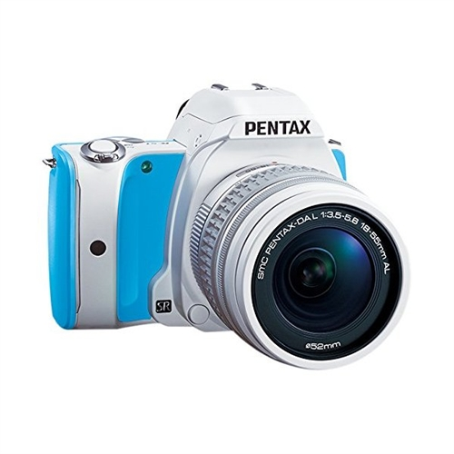 Pentax Lens Kit (Blue Cream Soda) SLR Sweets Collection 20MP SLR Camera with 3-Inch LCD- Body Only