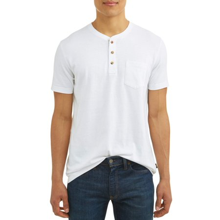 Lee Men's Short Sleeve Solid Henley T-Shirt