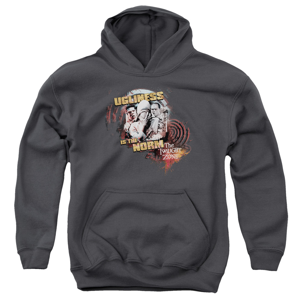 The Twilight Zone The Norm Big Boys Pullover Hoodie