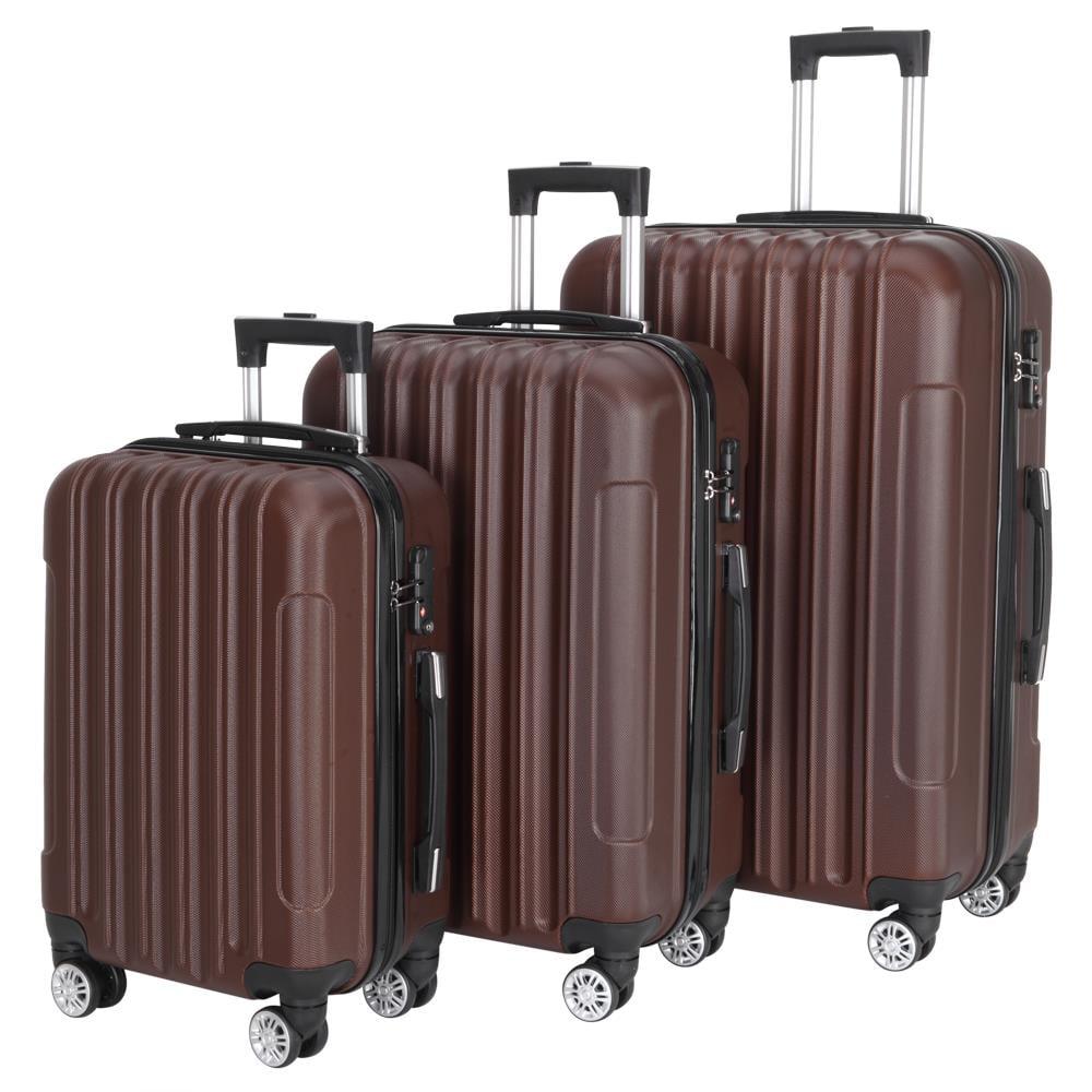 Cream Mia Toro Italy Lumina Hardside Spinner Luggage Carry-on