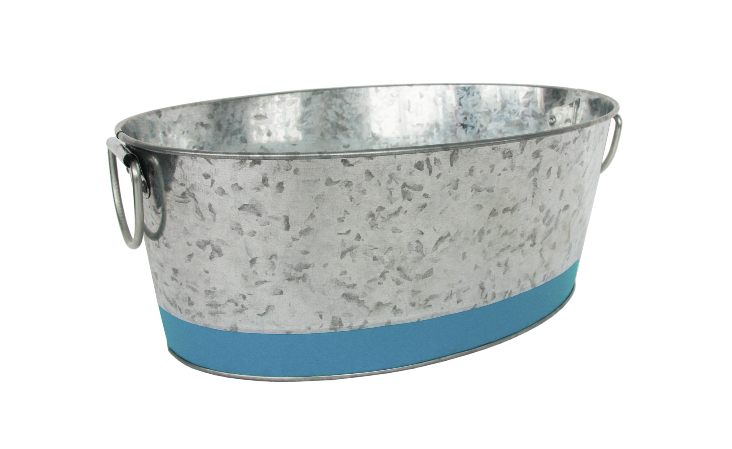 Mainstays Teal Oval Tub