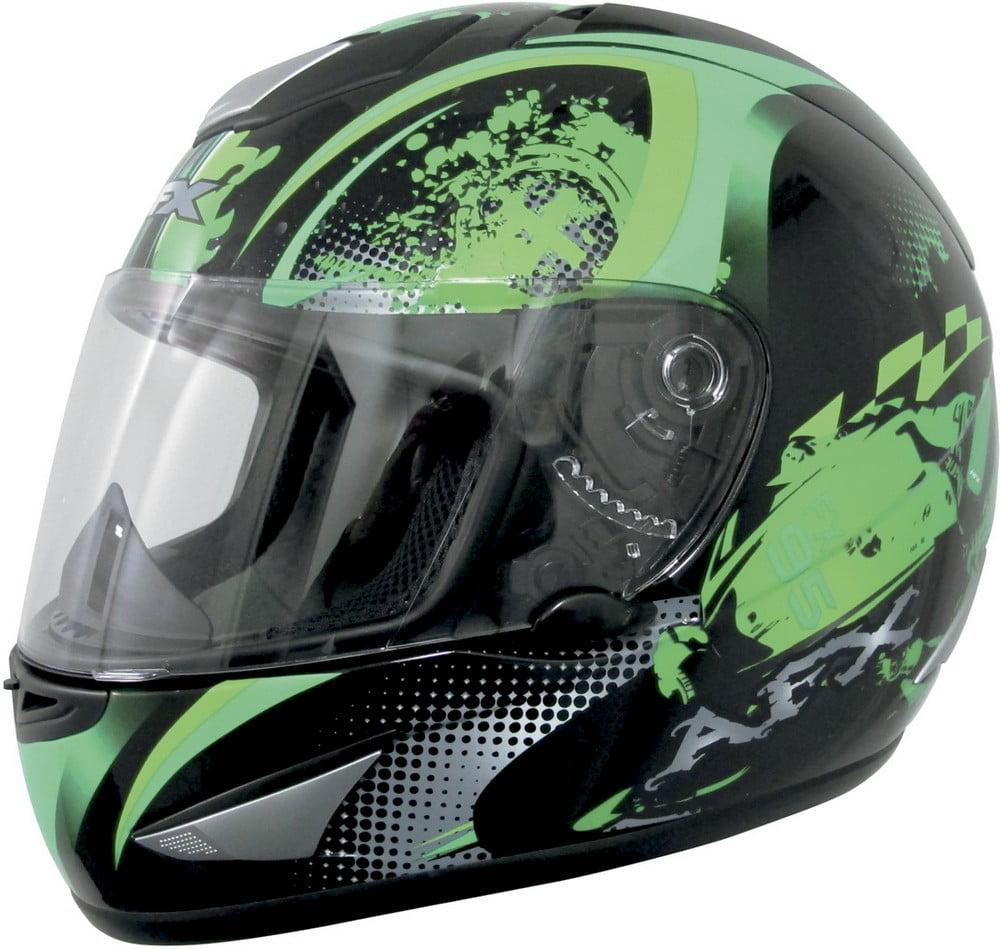 AFX FX-95 Stunt Full-face Street Helmet Green