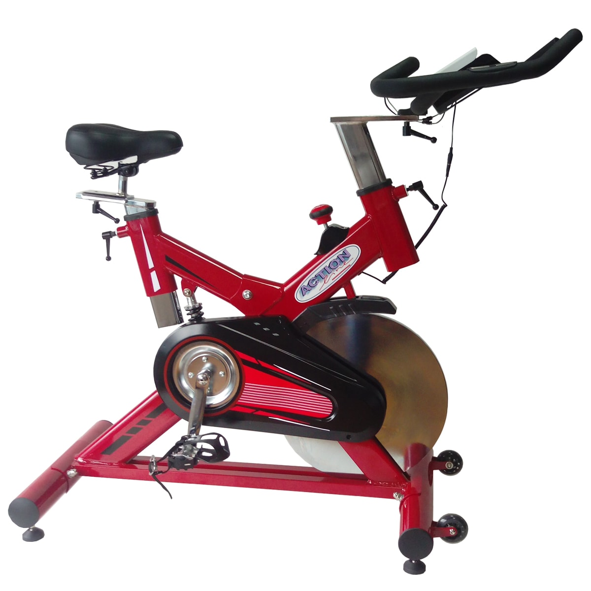 ActionLine  A84019 Pro Sport Indoor Cycling Bike with Com...