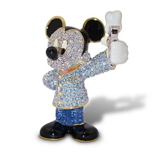 Disney Parks Mickey Mouse Dentist Jeweled Figurine by Arr...