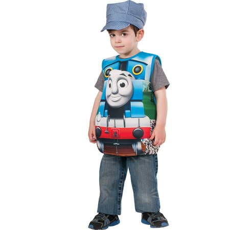 Thomas The Tank Engine Costume For Adults (Thomas The Tank Candy Catcher Child)
