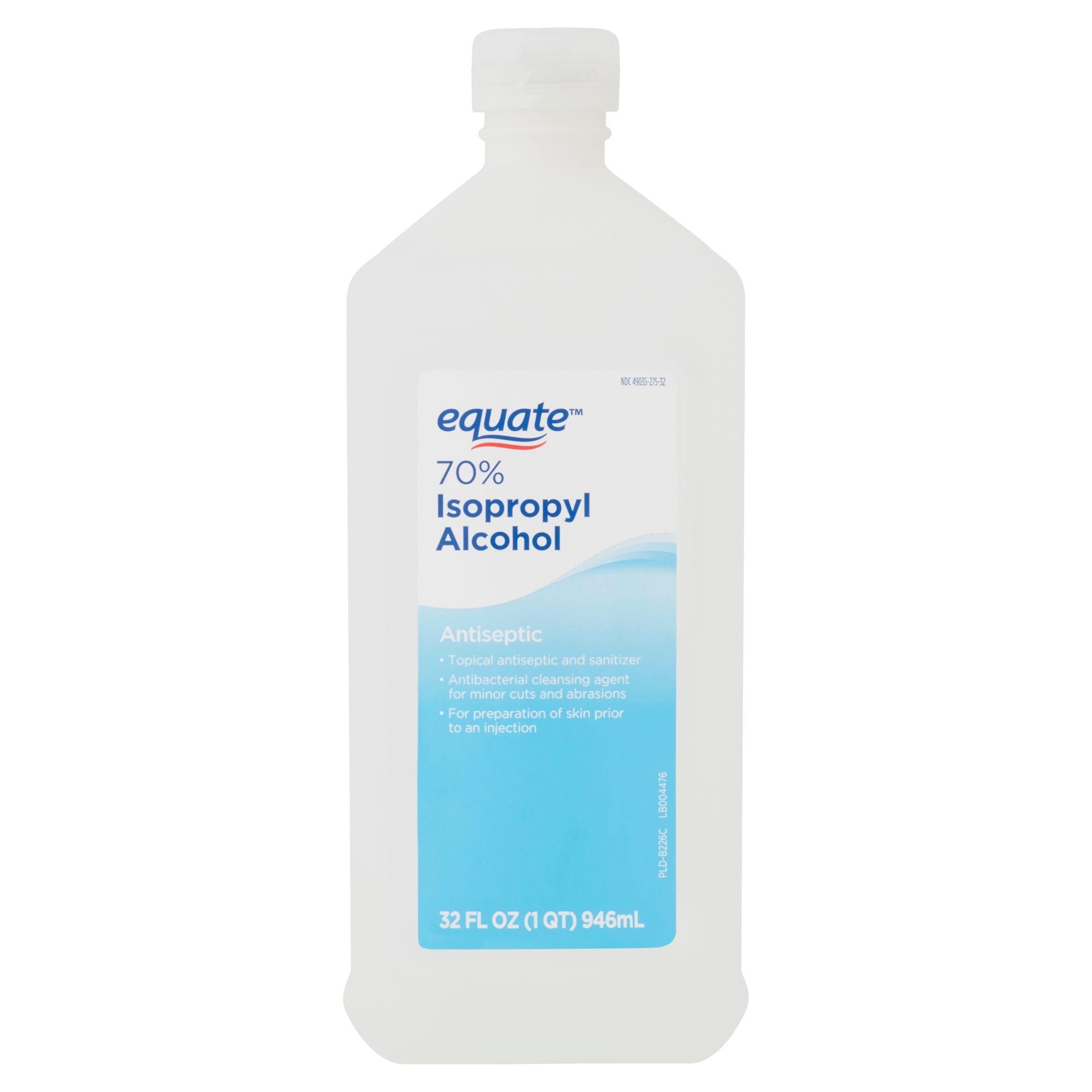 Equate 70% Isopropyl Alcohol Antiseptic, 32 fl oz