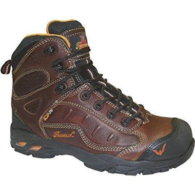 Thorogood men's sport asr composite toe hiking boots,brow...