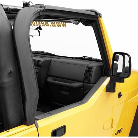 Bestop Door Sill - Bestop Inc. 55012-01 Bes55012-01 97-06 Jeep Wrangler Set Of 2 Door Surrounds Set-Black