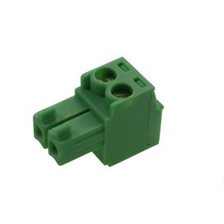 - 14J3292 Phoenix Contact Mc 1,5/2-St-3,5 Pluggable Terminal Block, 2Pos, 28-16Awg