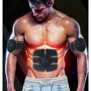 ABS Stimulator Abdominal Muscle Toner Unisex Massage Toning Belt Waist Trimmer Smart for Abdomen Body Fitness Workout