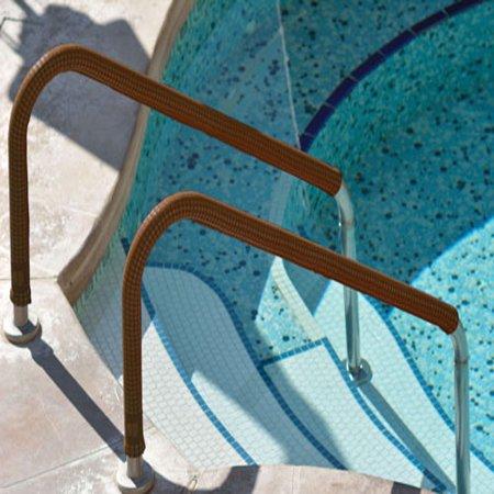 Desert Tan KoolGrips Comfort Swimming Pool and Spa Ladder Handrail Grip - 6  Foot