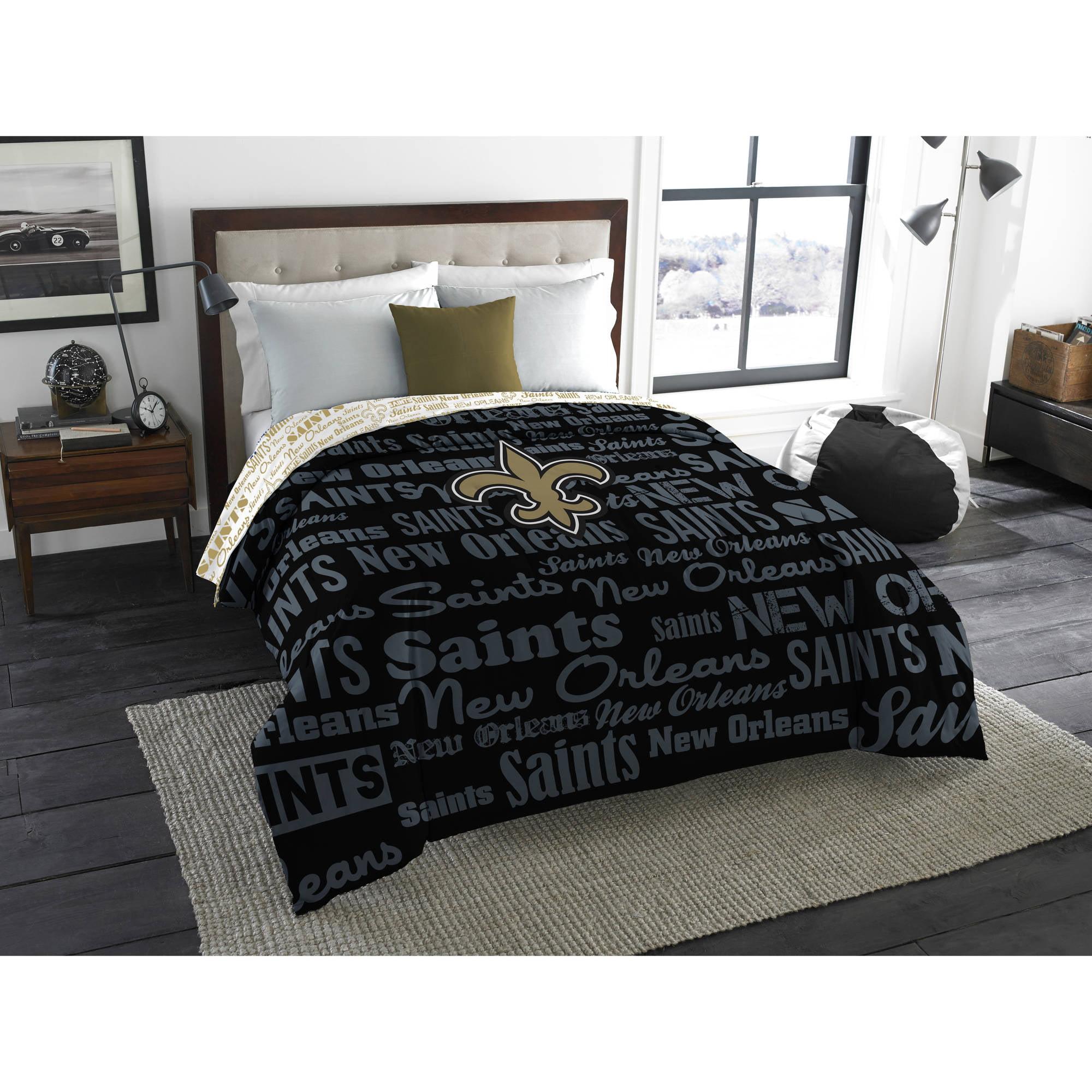 "NFL New Orleans Saints ""Anthem"" Twin/Full Bedding Comforter"