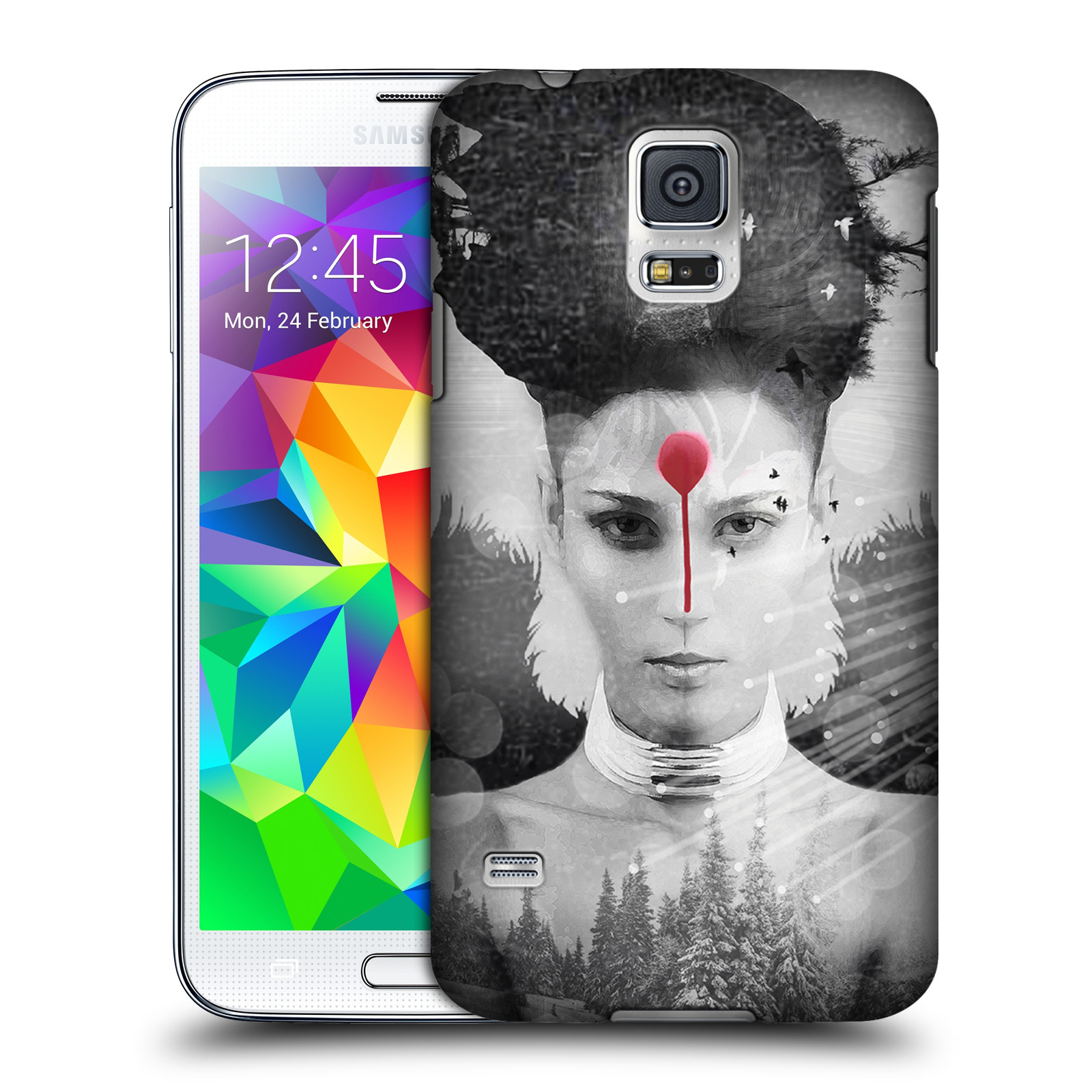 OFFICIAL VIN ZZEP DOUBLE EXPOSURE HARD BACK CASE FOR SAMSUNG PHONES 1