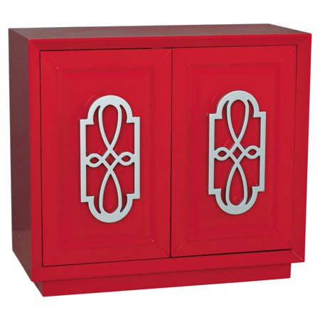 Midnight Accent Chest - Accent Chest, Red