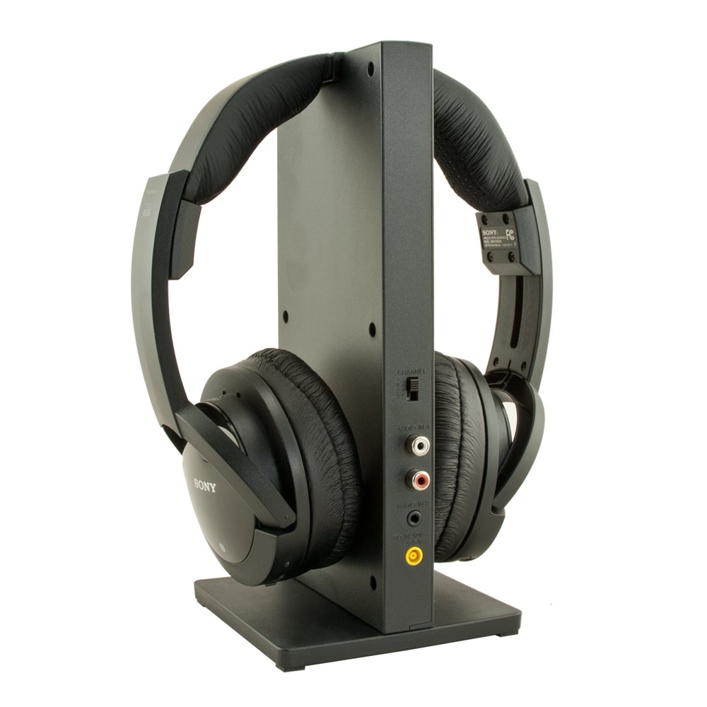 Refurbished Sony MDR-RF985RK Wireless RF Headphone, Black (Refurbished)