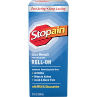 Stopain Extra Strength Pain Relieving Roll-On, 3 fl oz