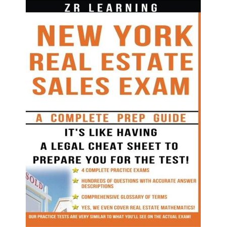 New York Real Estate Exam  A Complete Prep Guide