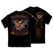 Cotton 2nd Amendment Double Flaged T-Shirt