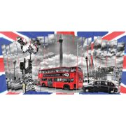Selections by Chaumont London Shutters Graphic Art on Canvas