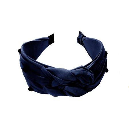 Amour Bows pridenav Pride Headband - Navy