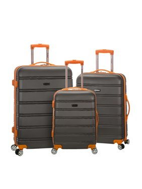 7c541a62b23f Product Image Rockland Luggage Melbourne 3 Piece Hardside Luggage Set