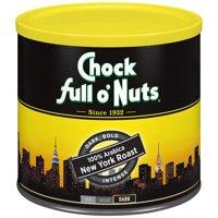 Chock full o'Nuts 100% Arabica New York Roast Ground Coffee, 23 Ounce Can