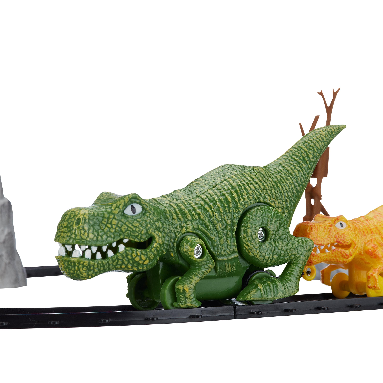 Dinosaur Train Tiny avec train voiture