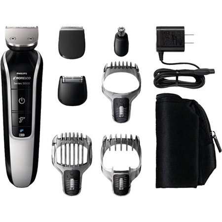 Philips Norelco Multigroom Series 5100 Electric Trimmer, Groomer and Shaver, QG3364/49