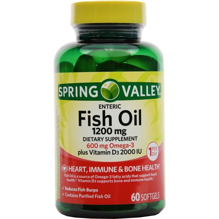 upc 681131112024 spring valley fish oil 1200 mg plus