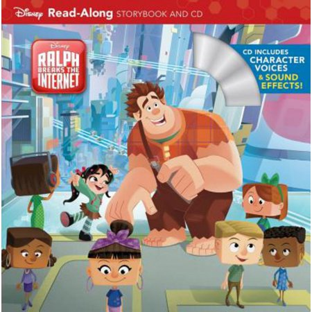 Wreck-It Ralph 2 Read-Along Storybook and CD (Paperback) (Halloween Read Along Stories)