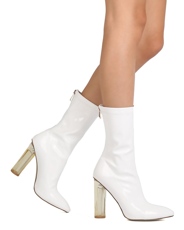 Cape Robbin FG72 Women Mid-Calf Patent