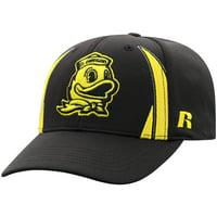 Men's Russell Athletic Black Oregon Ducks React Adjustable Hat - OSFA
